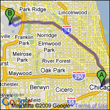 Maps Multiple Stops >> Chicago OHare & Midway airport limousine service to Chicago, Illinois (ORD/MDW)