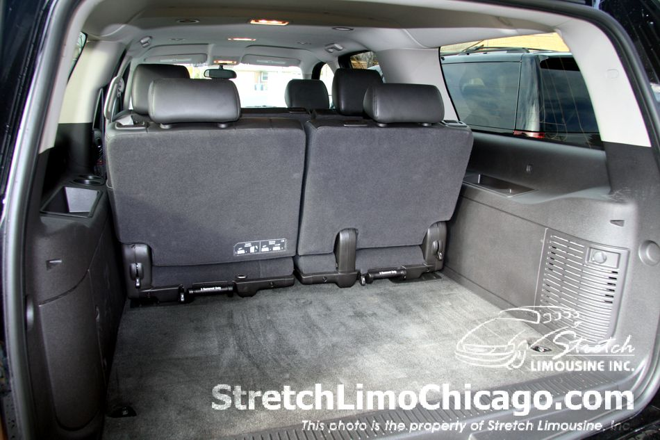 chevy suburban suv trunk view