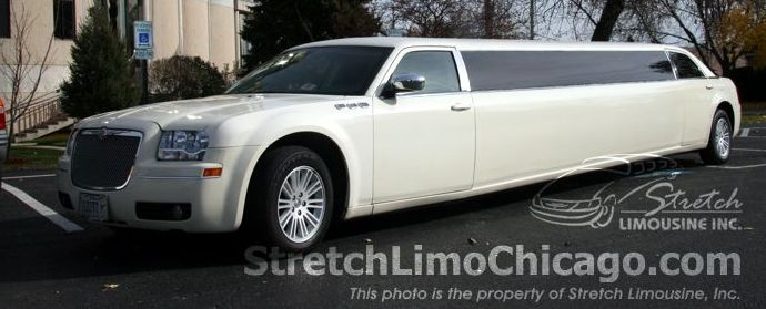 chrysler 300 wedding limo package