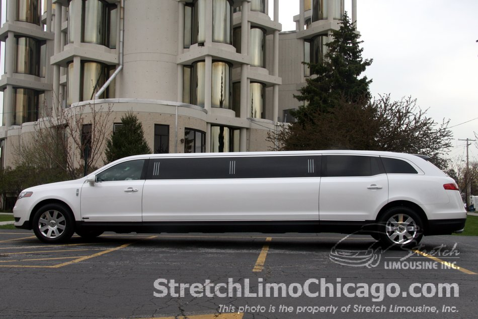 Lincoln MKT stretch limousine exterior side view