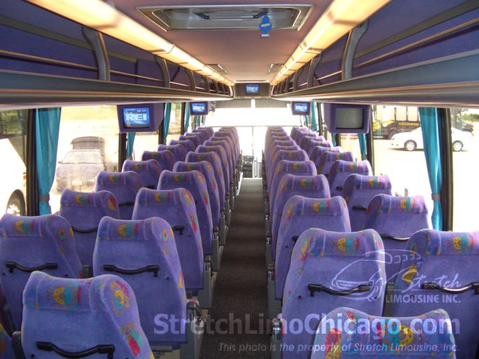 54 seat tour bus coach